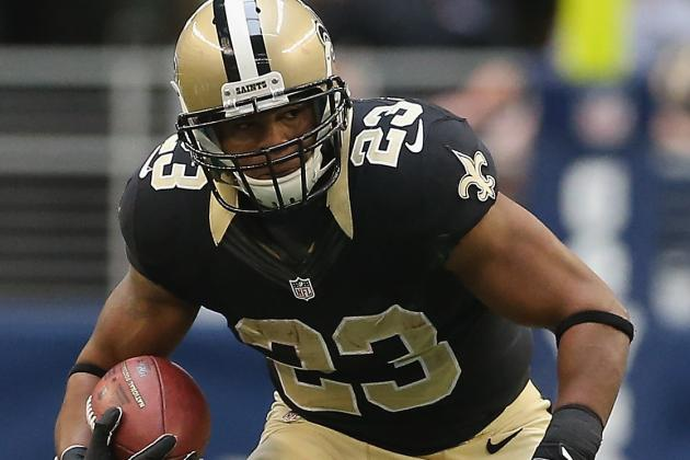 Saints Running Back Pierre Thomas Eager to Get Back to Work