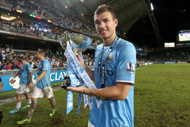 Chelsea Should Look to Manchester City's Edin Dzeko as Striker Search Continues