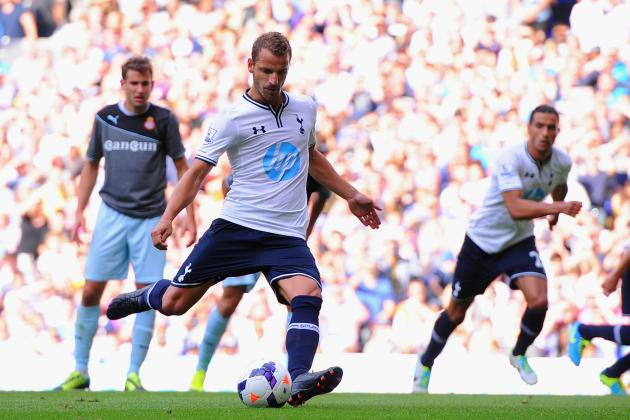 Is Roberto Soldado an Improvement on Adebayor and Defoe for Tottenham?
