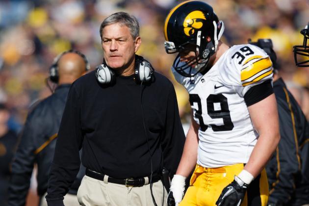 Ferentz, Iowa Looks to Rebound in 2013
