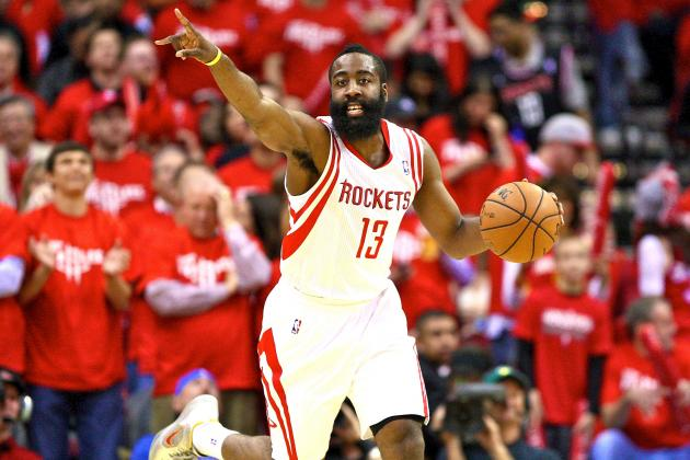 James Harden Says Dwight Howard Makes Rockets Title Contenders