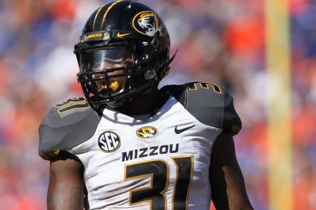 Gaines Injury Tests Mizzou Secondary