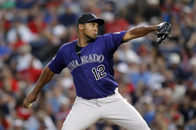 Rox to Keep 13 Pitchers Through Baltimore Series
