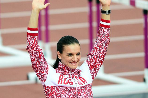 Yelena Isinbayeva Backs Russia's Anti-Gay Law