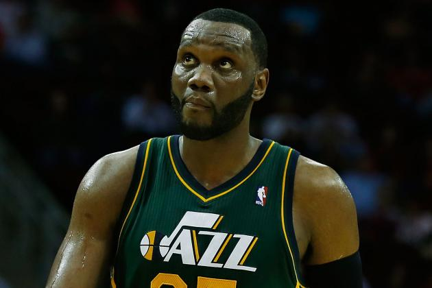 Al Jefferson Knows He's Not Good on Defense