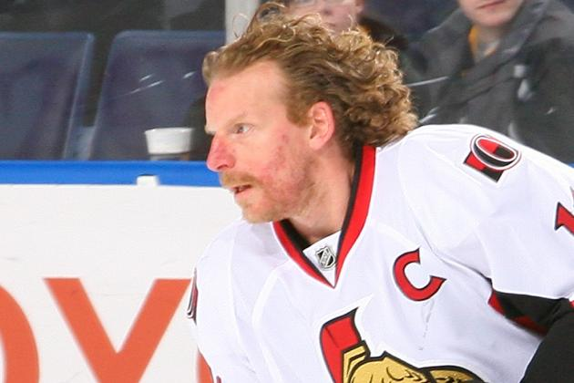 Alfredsson Didn't Expect to Play After 2012