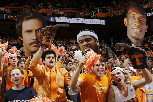 Tennessee Basketball Ranked No. 8 in Attendance in 2012-13