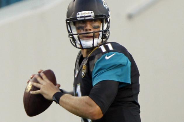 Jaguars Will Start Blaine Gabbert vs. Jets