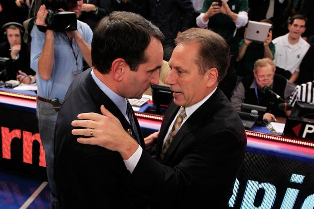 Izzo: Krzyzewski's Success Against MSU 'Ticks Me off