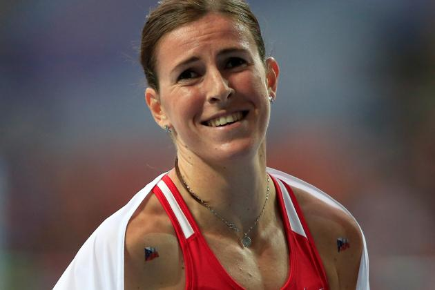 Hejnova Wins Women's 400 Hurdles at Worlds
