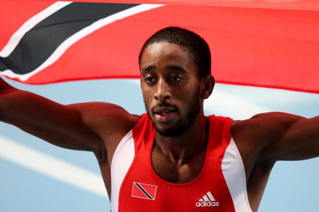 Gordon Runs Down USA's Tinsley to Snatch Hurdles Gold