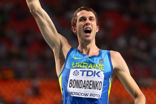 Bohdan Bondarenko Wins Men's High Jump