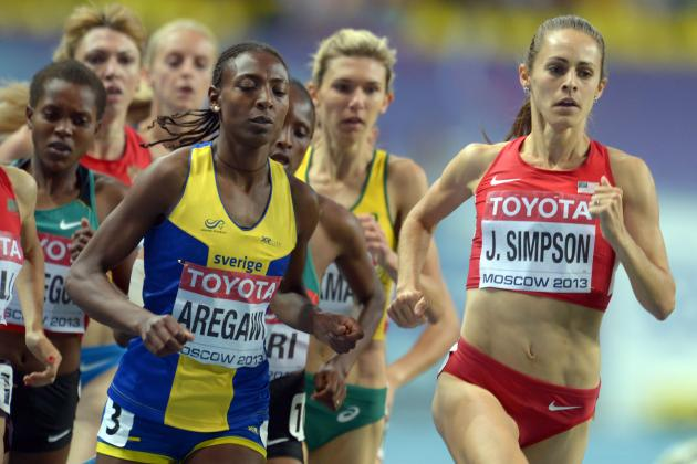 Jenny Simpson Leads Silver Night for U.S. at Worlds