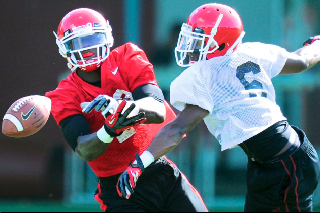 Georgia Freshmen Defensive Backs Making an Impact in Bulldogs' 2013 Fall Camp
