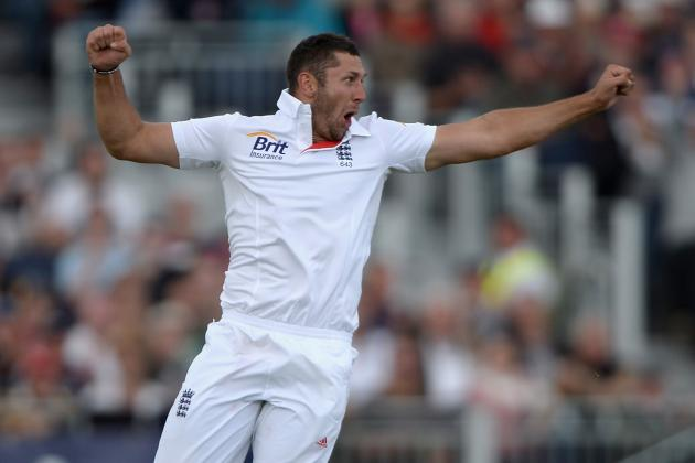 England's Tim Bresnan Out for the Summer with Stress Fracture to Lower Back