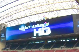 Texans Unveil Monster Jumbotron