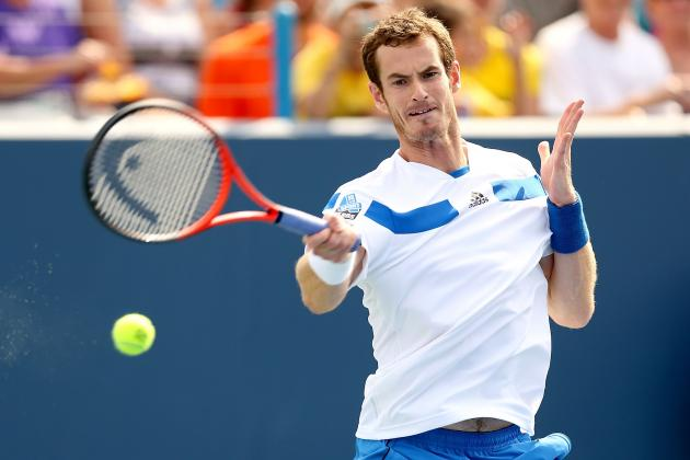 Andy Murray vs. Julien Benneteau: Score and Recap from Cincinnati Masters 2013