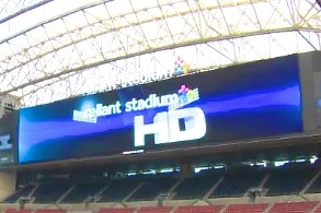 Houston Texans Unveil Massive New HD Video Board at Reliant Stadium