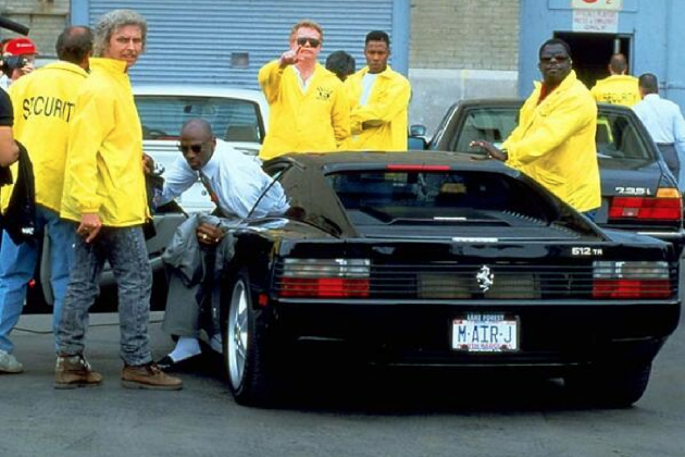Throwback Thursday: Michael Jordan Uses His Ferrari and a Cigar as Intimidation
