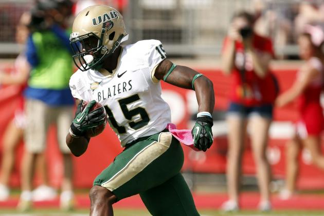 Ex-UAB WR Transfers to UCF