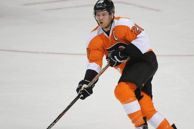 Report: Flyers Captain Giroux Injured Surgically Repaired Wrist