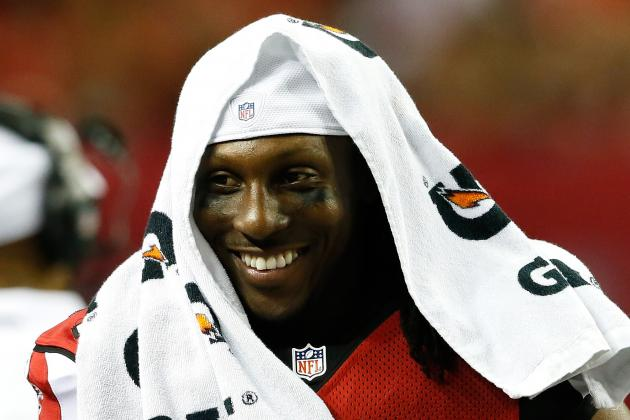 Roddy White Injury: Updates on Falcons Star's Ankle