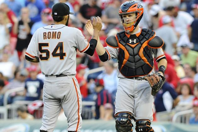 Pinch-Hitter Sanchez Blasts Giants Past Nats