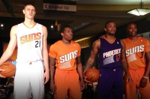 Report Card Grades for Phoenix Suns' New Uniform Design