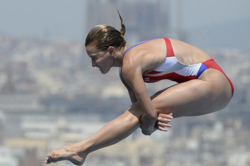 Freeman, Johnson Top U.S. Diving Semifinals