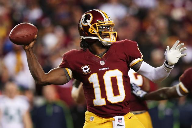 Robert Griffin III Is Ultimate Boom-or-Bust Fantasy Football Draft Pick
