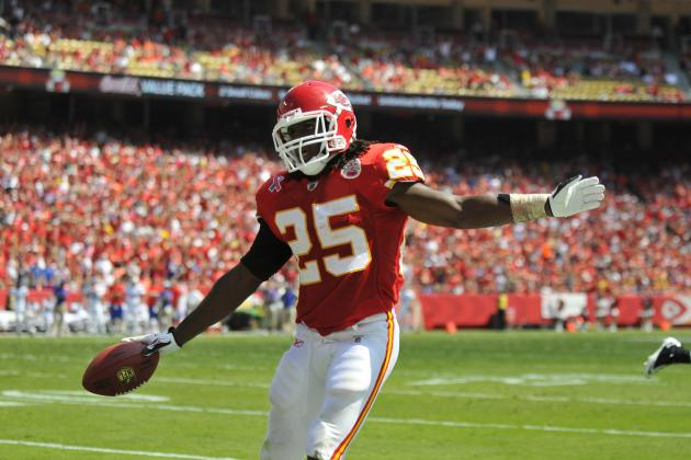 How Good Can Jamaal Charles Be in Andy Reid's Offense?