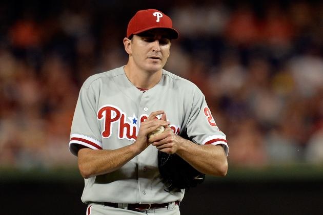 Phillies Placed LHP John Lannan on DL with Knee Issue