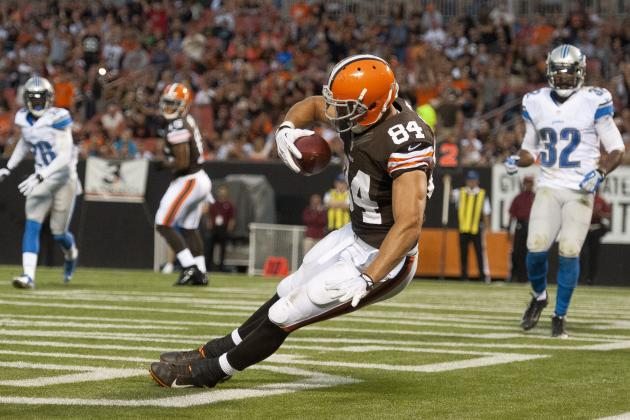 Fantasy Football Sleepers 2013: Jordan Cameron and Rising Stars to Target