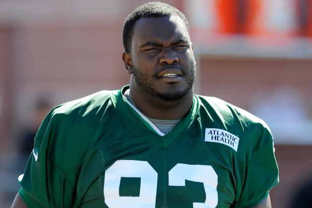 Back Injury Sidelines Jets D-Lineman Ellis