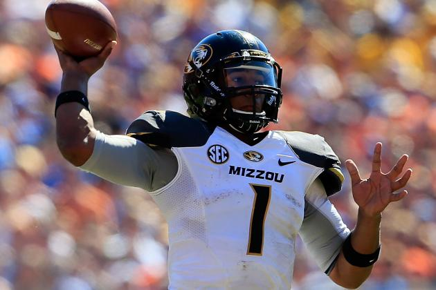 Gary Pinkel Officially Names James Franklin as Missouri Starting QB