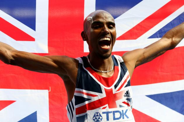 Mo Farah Wins Second Gold Medal at the 2013 World Athletics Championships