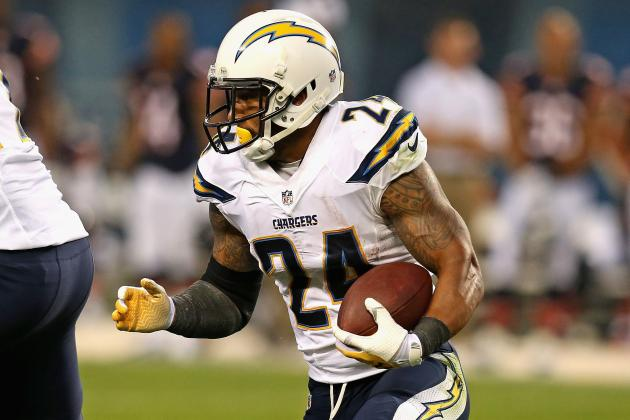 Ryan Mathews a Real Bright Spot Again for Bolts