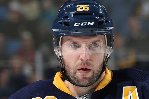 Buffalo Sabres lineup has Ryan Miller, Thomas Vanek for now