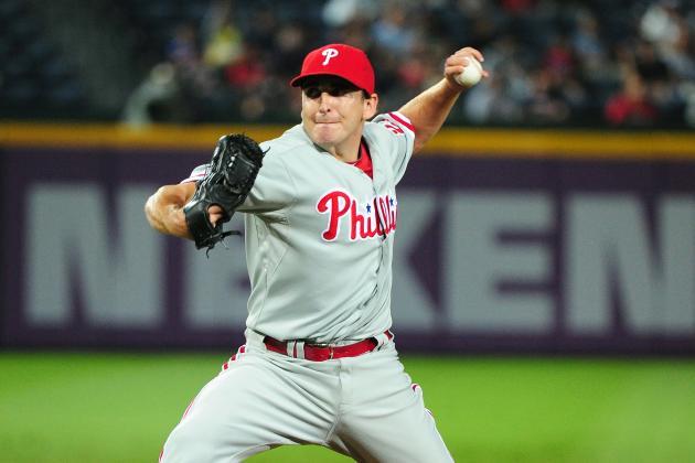 Philadelphia Phillies Place John Lannan on 15-Day DL, Recall B.J. Rosenberg
