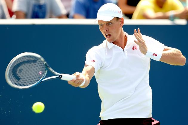 Andy Murray vs. Tomas Berdych: Score and Recap from Cincinnati Masters 2013