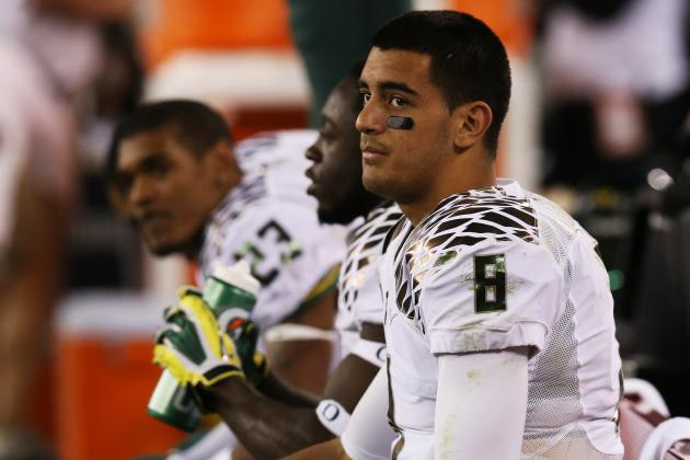 Mariota Tops Pac-12 in Heisman Watch