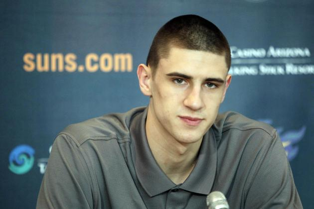 Phoenix Suns' Alex Len on the Mend After 2 Surgeries in 2 Months