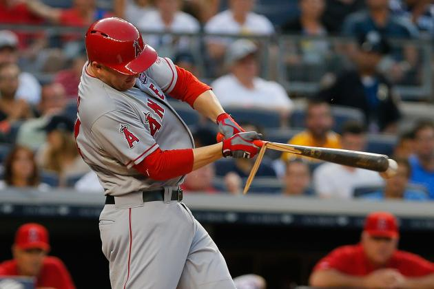 Trumbo out Tonight; Bourjos Returns