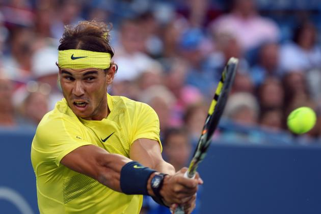 Nadal Defeats Federer to Advance to Cinci Semis