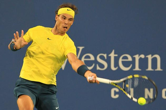 Rafael Nadal vs. Roger Federer: Score and Recap from Cincinnati Masters 2013