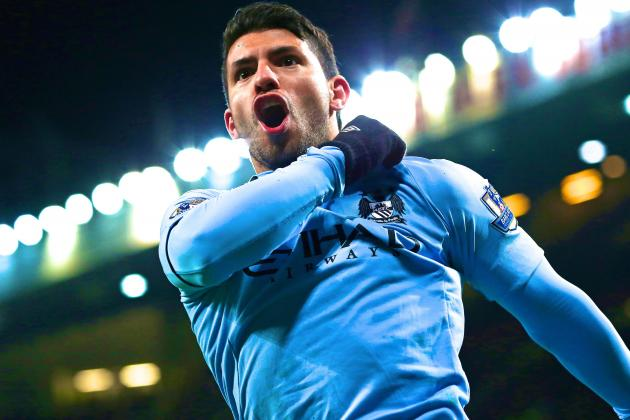 Sergio Aguero Ready for Manchester City's Match with Newcastle