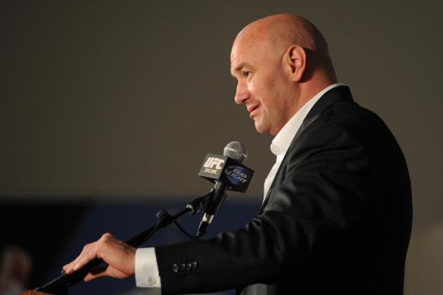 Dana White Won't Counter-Program Bellator 106, and That's a Smart Move