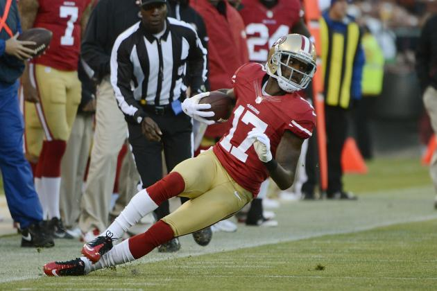 Cleveland Browns Would Be Wise to Trade for San Francisco 49ers WR A.J. Jenkins