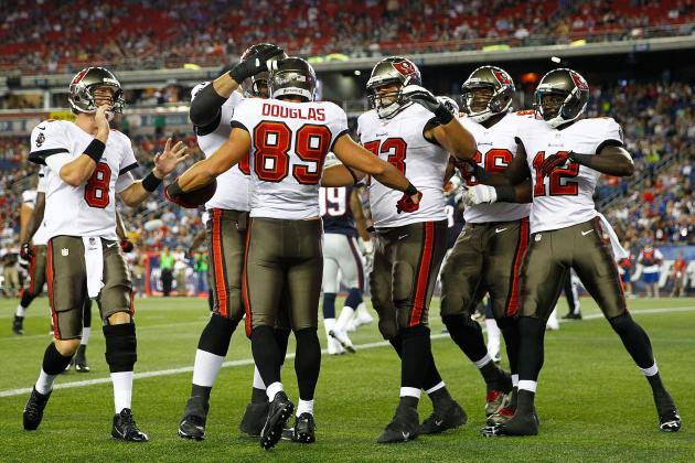Bucs Starting Offense, Defense Struggle Against Pats