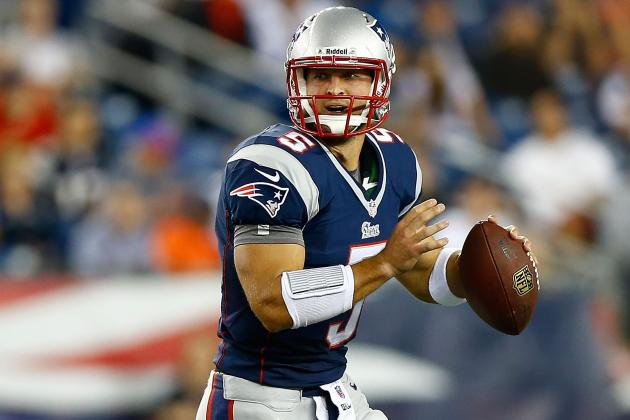 Tim Tebow Throws for Negative Yardage in Pats' Win